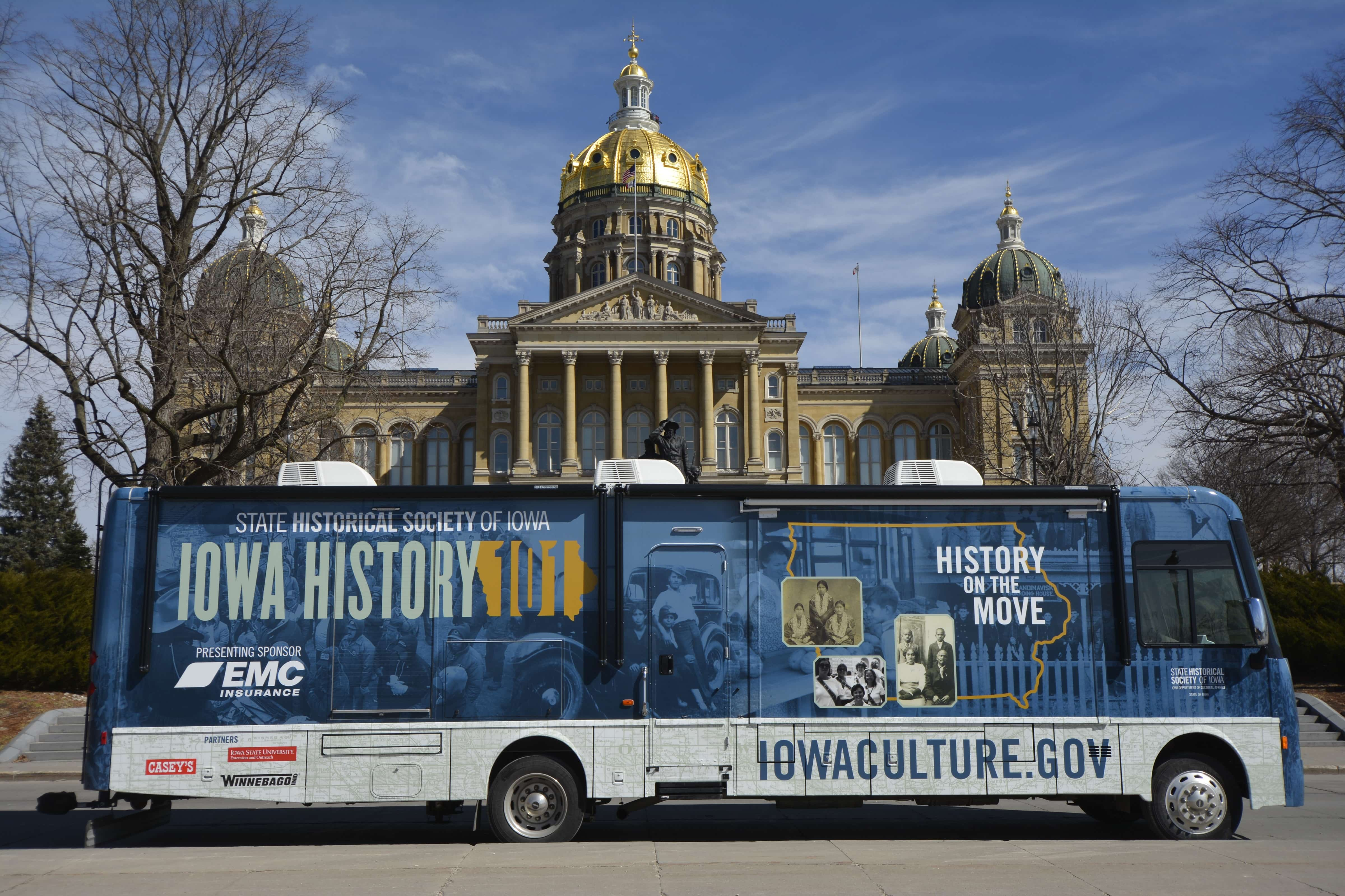 EMC-Sponsored History Exhibition Hits the Road